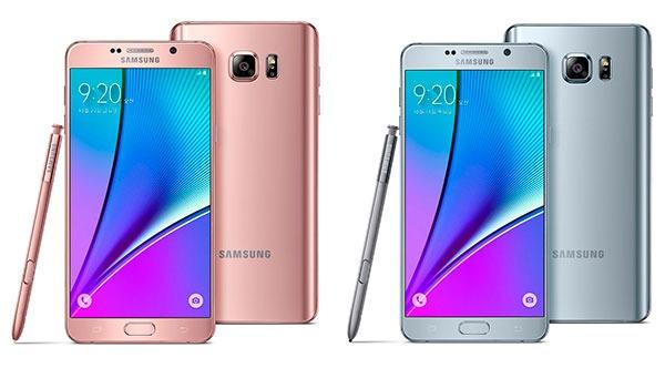 Samsung Galaxy Note 5(cinco) colores