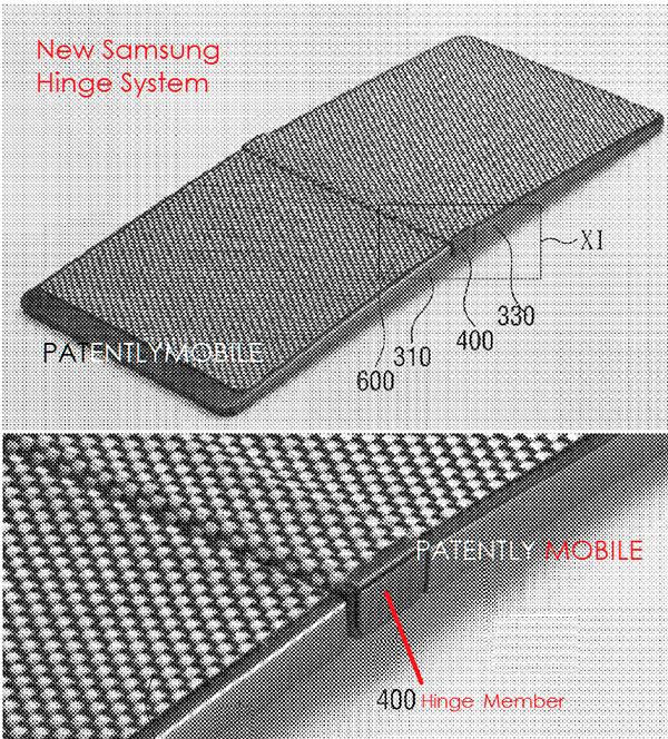 Surgen detalles del teléfono con pantalla plegable de Samsung