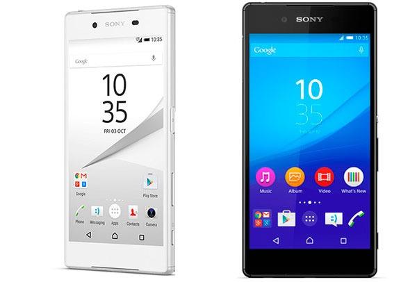 Sony Xperia™ Z5 vs Sony® Xperia™ Z3 Plus