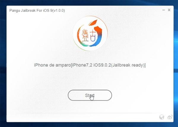 Tutorial Jailbreak <stro />iOS</strong>® 9&#8243; width=&#8221;600&#8243; height=&#8221;429&#8243; /></p> <p><strong>2) </strong>Para abrir el ejecutable, hacemos click derecho sobre él y seleccionamos la alternativa <strong>&#8220;Ejecutar como administrador&#8221;.</strong> Con el <strong>iPhone</strong>® conectado el computador mediante cable, aguardamos a que el programa lo detecte y pulsamos en <strong>Start</strong>.</p> <p><img class=