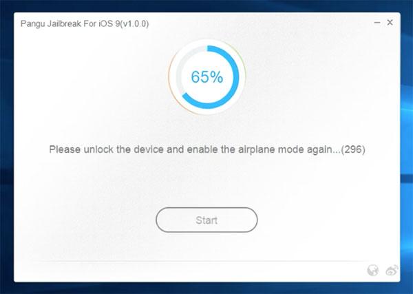 Tutorial Jailbreak <stro />iOS</strong>® 9&#8243; width=&#8221;600&#8243; height=&#8221;427&#8243; /></p> <p><strong>4) </strong>Durante el proceso verás como<strong> se instala la app de PanGu</strong> y aparece el icono en la pantalla de principio de tu iPhone, es muy importante que no toques nada y sobre todo que no desconectes el cable. Al llegar el 65%,<strong> el <strong>iPhone</strong>® se reiniciará </strong>y tendremos que <strong>volver a activar el modo avión</strong> para poder continuar.</p> <p><img class=