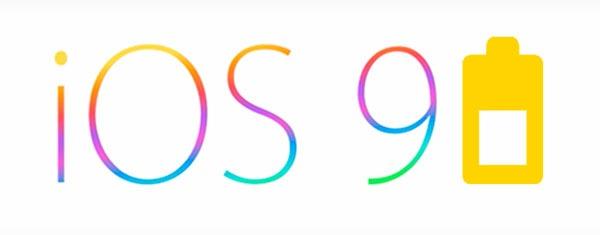 iOS 9 ahorro batería