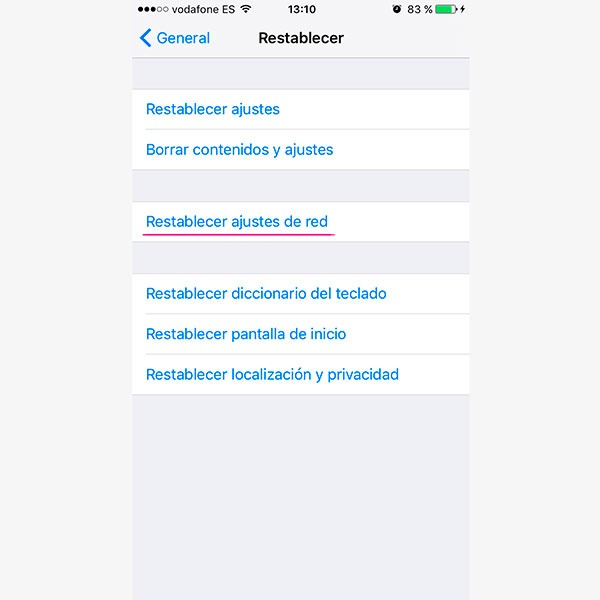 iPhone problemas backup