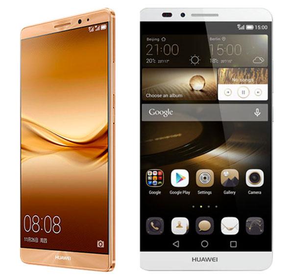 Huawei Mate 8(ocho) vs Huawei® Ascend Mate 7