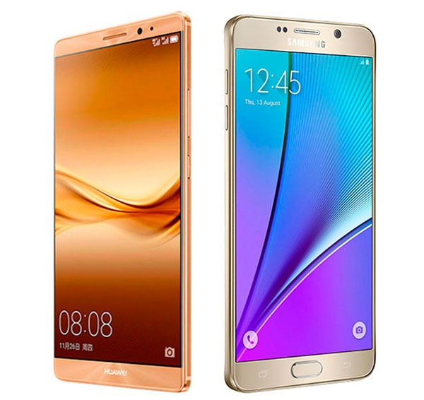 Huawei Mate 8 vs Samsung® Galaxy™ Note 5