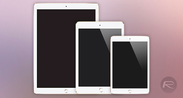 Diferencias entre las pantallas del iPad Pro, iPad Air 2 y iPad mini 4