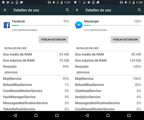 Cómo reducir la actividad en segundo plano en Android