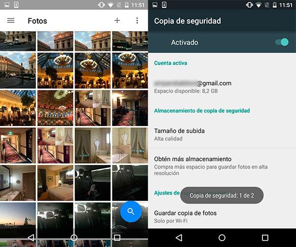 Cómo hacer una copia de seguridad de un móvil o tablet Android