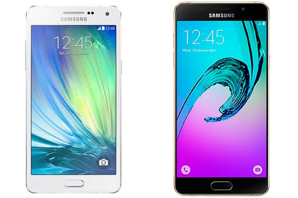 Samsung Galaxy™ A5 2015 vs Samsung® Galaxy™ A5 2016
