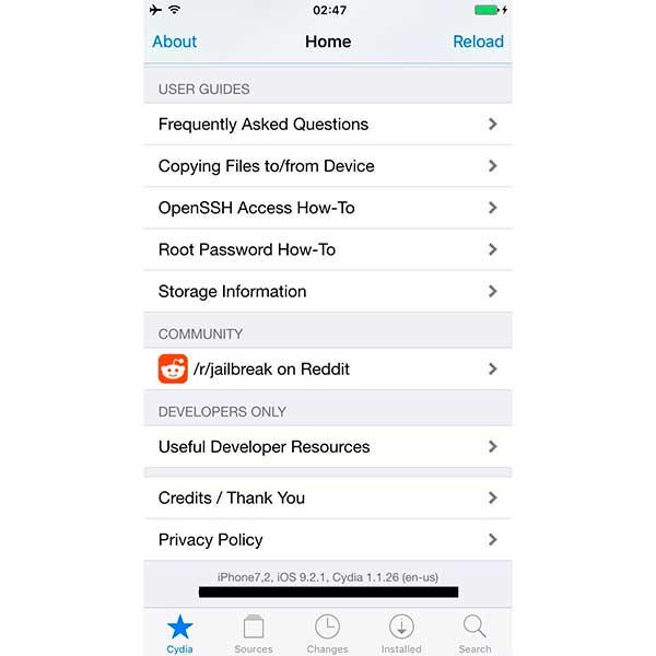 El Jailbreak de iOS 9.2.1 ya ha sido completado