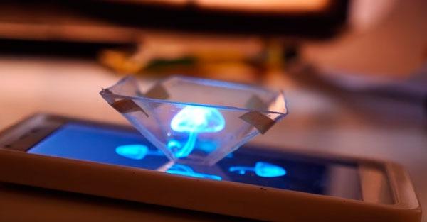 Cómo crear un holograma con tu móvil siguiendo unos sencillos pasos