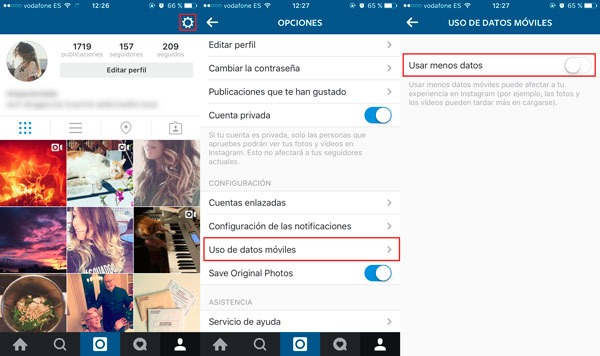 Cómo desactivar la reproducción automática de vídeos en Instagram