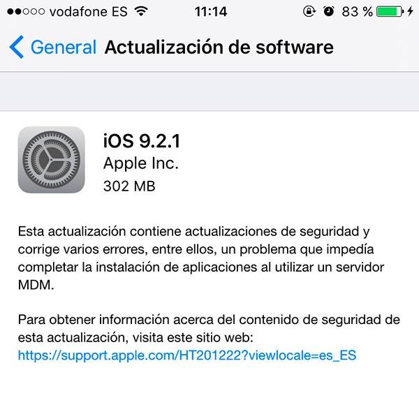 Novedades sobre el Jailbreak: los hackers recomiendan actualizar a iOS 9.2.1