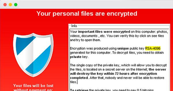Ransomware, así es el virus que también afecta ordenadores Mac