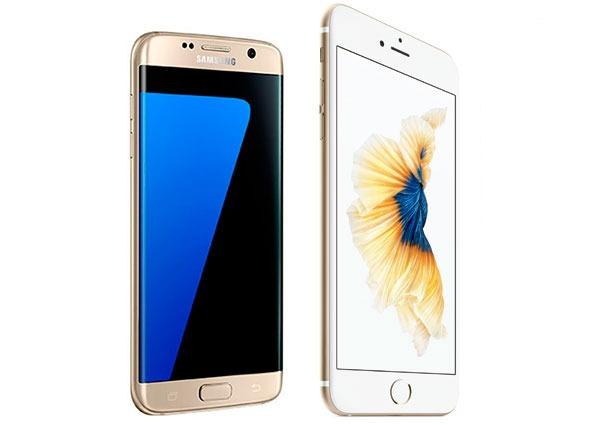 Comparativa Samsung Galaxy S7 edge vs iPhone 6s Plus