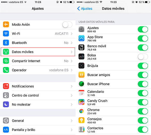 iOS-datos-moviles