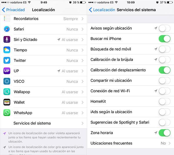 iOS localización