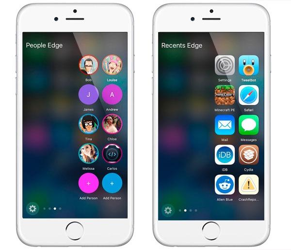 Consigue las funciones del Samsung Galaxy S7 edge en tu iPhone con Jailbreak