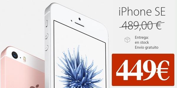 Cómo conseguir el nuevo iPhone SE con 40 euros de descuento
