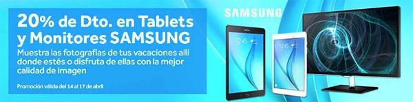 Cómo ahorrar un 20% al comprar una tableta o un monitor de Samsung