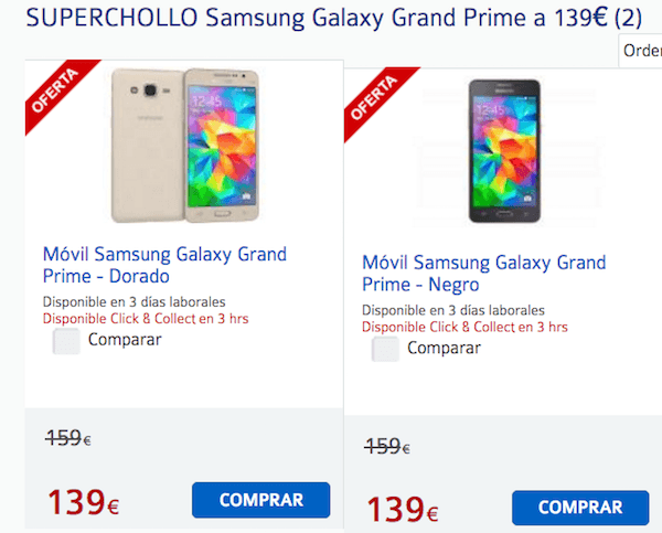 precio Samsung® Galaxy™ Grand Prime 01