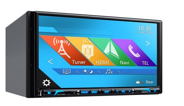 NX706E, un sistema de navegación multimedia para el coche