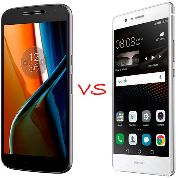 Comparativa Motorola Moto G4 2016 vs Huawei P9 Lite