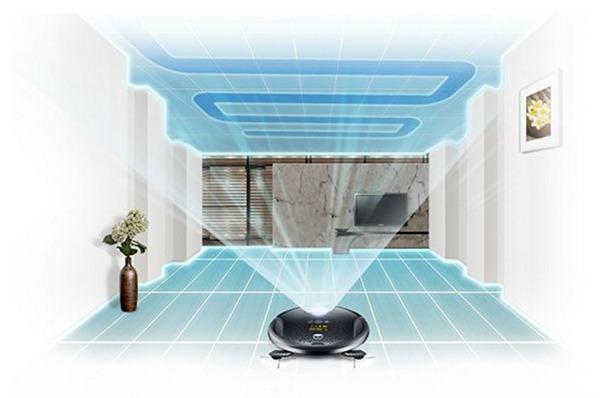 robot de limpieza hará un atlas de la habitacion