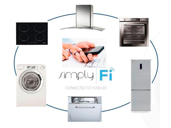 Gama Simply-Fi de Candy, controla tus electrodomésticos desde el smartphone