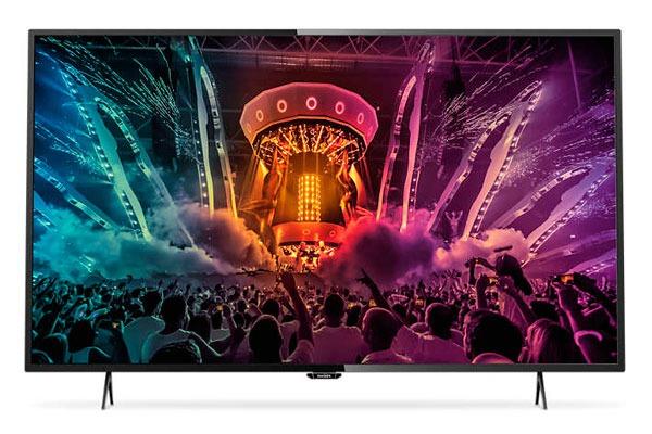 Philips 55PUH6101, televisor 4K de 55 pulgadas con 160 euros de descuento