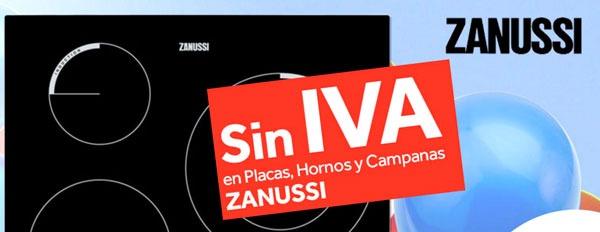 Vitrocerámicas Zanussi carente IVA