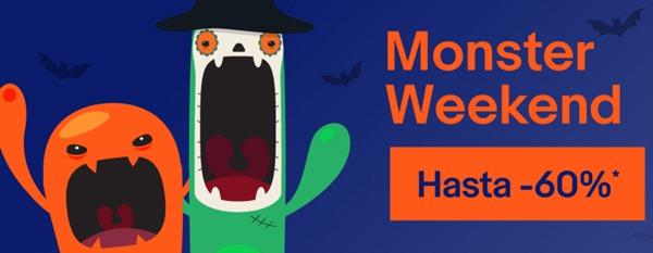 Monster Weekend en eBay, grandes ofertas en muchos artículos