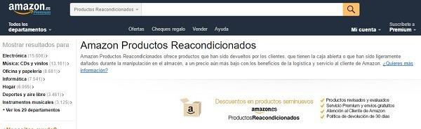 Amazon Segunda Mano