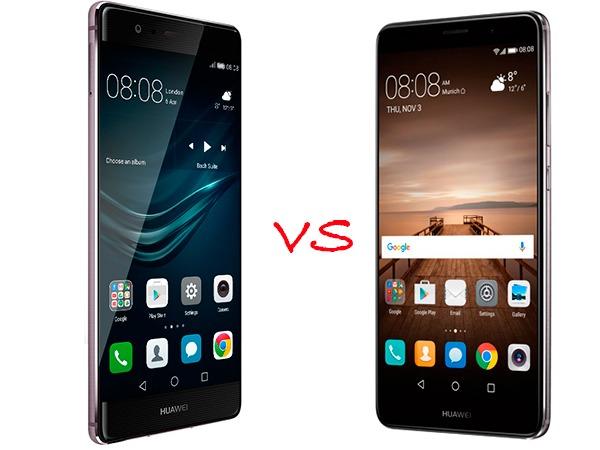 Huawei Mate 9 vs Huawei® P9 Plus