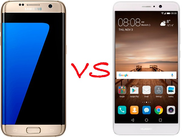 Samsung Galaxy™ S7 edge vs Huawei® Mate 9