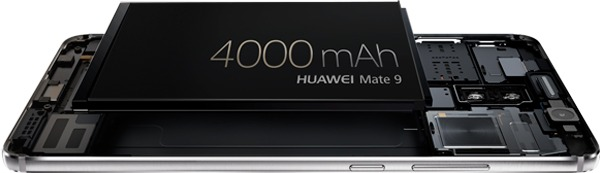 huawei mate 9(nueve) bateria