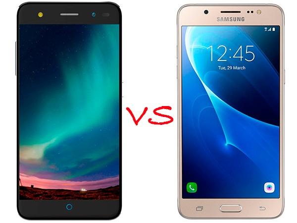comparativa zte blade v7 lite vs samsung® Galaxy™ j5 2016