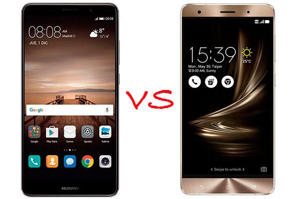 Comparativa Huawei Mate 9 vs Asus Zenfone 3 Deluxe
