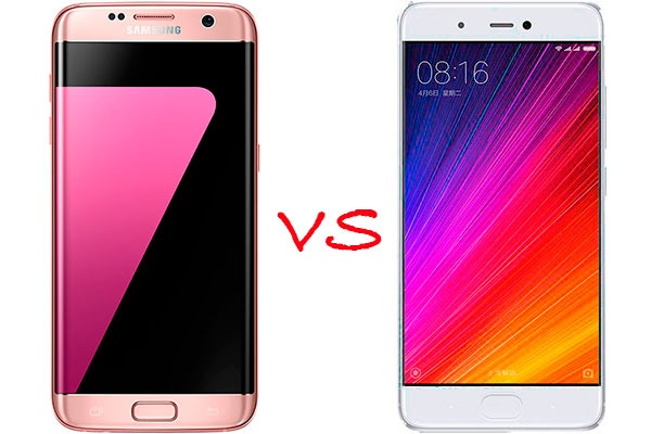 comparativa samsung® Galaxy™ s7 edge vs xiaomi mi 5s