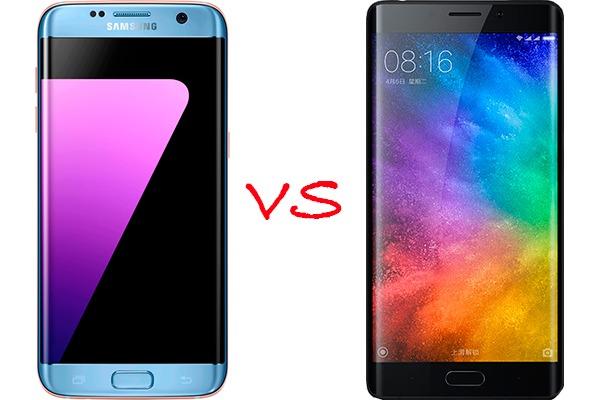Comparativa Samsung Galaxy S7 edge vs Xiaomi Mi Note 2