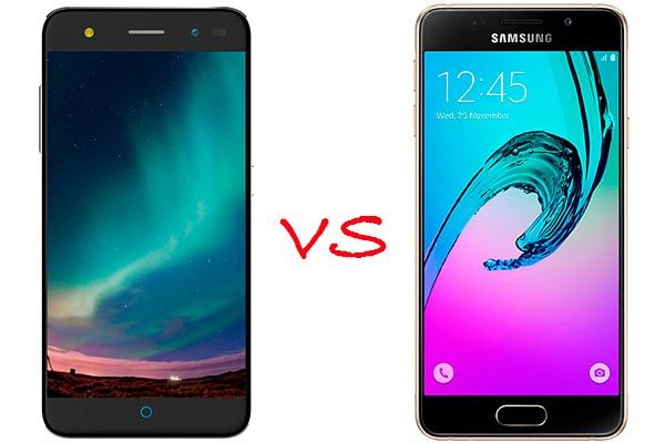 zte blade v7 lite vs samsung® Galaxy™ a3 2016