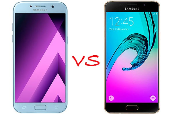 samsung galaxy a5 2017 vs samsung galaxy a5 2016
