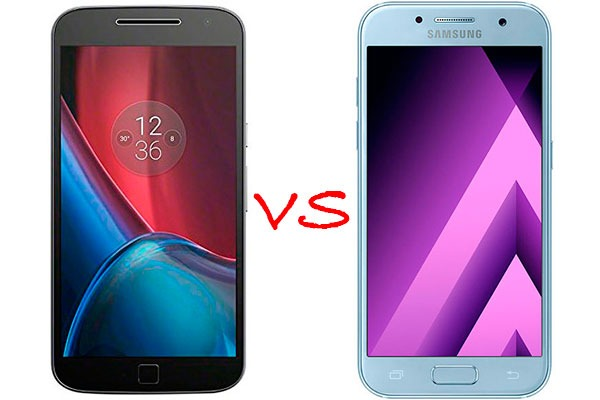 Comparativa Motorola Moto G4 Plus vs Samsung Galaxy A3 2017