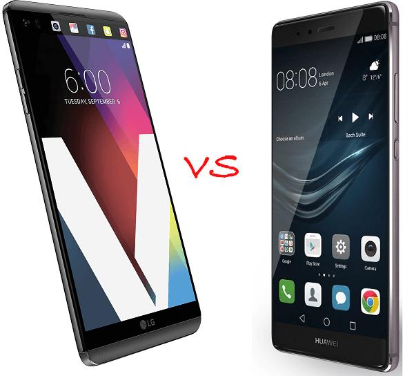 Comparativa Huawei P9 Plus vs LG V20