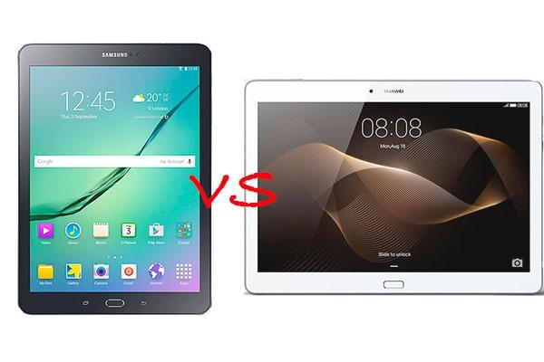 Comparativa Samsung Galaxy Tab S2 9.7 vs Huawei MediaPad M2 10.0