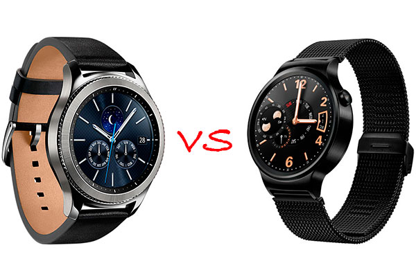 Comparativa Samsung Gear S3 vs Huawei Watch