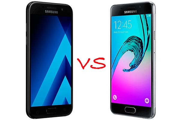 Comparativa Samsung Galaxy A3 2017 vs Samsung Galaxy A3 2016