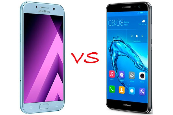 Comparativa Samsung Galaxy A5 2017 vs Huawei Nova Plus