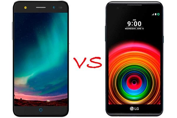Comparativa ZTE Blade V7 Lite vs LG X Power