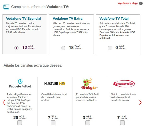 comparativa ofertas futbol movistar vs orange vs vodafone tv vf